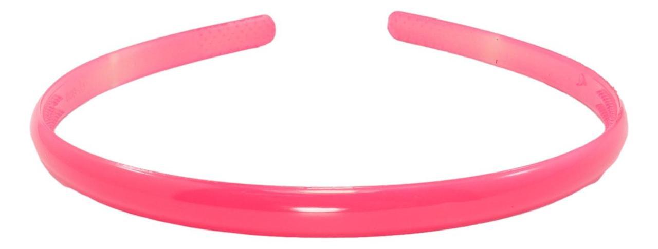 """Обруч пластиковий """"Вузький яскраво-рожевий"""" шир. 8мм"""