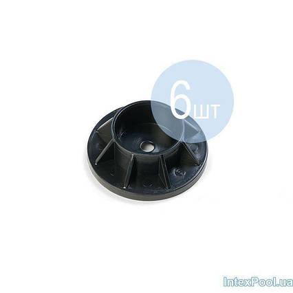 Підніжка Intex 10309-6 для круглих басейнів Metal Frame (для стійки Ø 4 см). Кількість 6 шт