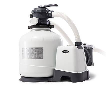 Пісочний насос з хлоргенератором Intex 26676, 6 000 л/год хлор 7 м/год, 35 кг