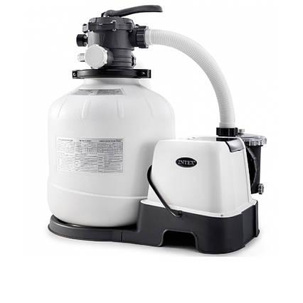 Пісочний насос з хлоргенератором Intex 26680, 10 000 л/год, хлор 11 р/год, 55 кг