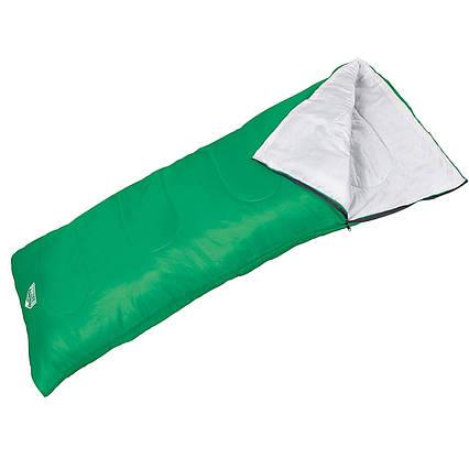 Спальний мішок Pavillo Bestway 68053, 180 х 75 см, зелений