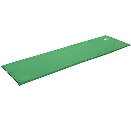 Самонадувающийся матрац Pavillo Bestway 68058, 180 х 50 х 2.5 см, зелений