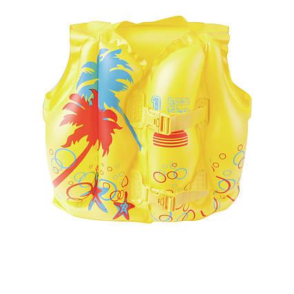 Дитячий надувний жилет Bestway 32069 «Тропіки», 41 х 30 см