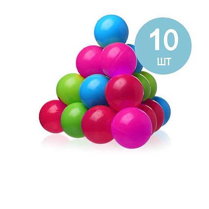Дитячі кульки для сухого басейну Intex 48010, 10 шт
