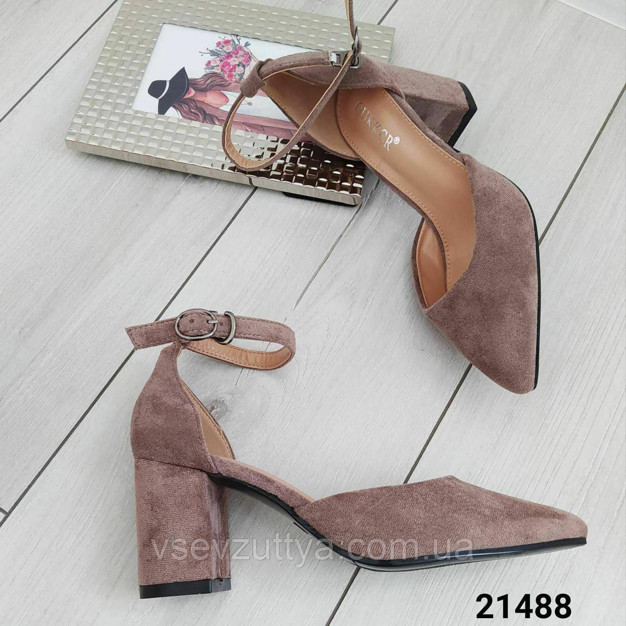 Туфли женские на каблуке