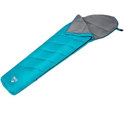 Спальний мішок Pavillo Bestway 68102, 220 х 75 х 20 см, блакитний