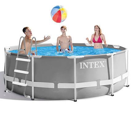 Каркасний басейн Intex 26706-1, 305 x 99 см (сходи)