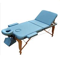 Массажный стол Zenet ZET-1047 M light blue