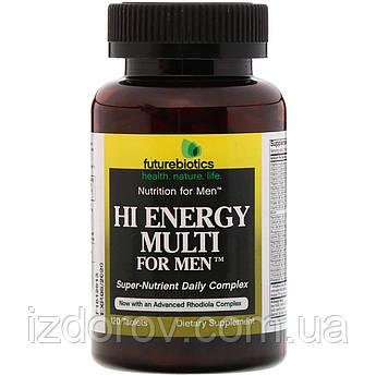 FutureBiotics, Hi Energy Multi for Men, комплекс витаминов для мужчин, 120 таблеток. США