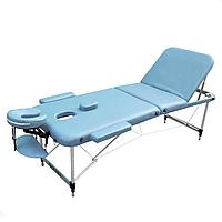 Массажный стол Zenet ZET-1049 M light blue