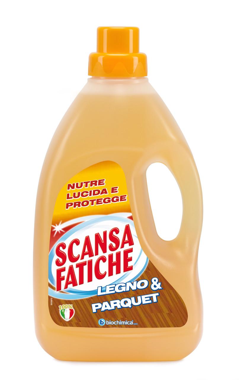 Средство для мытья паркета и ламината Scansa Fatiche 1 л