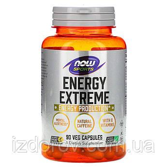 Now Foods, Sports Energy Extreme, комплекс вітамінів для спорту та фітнесу, 90 капсул