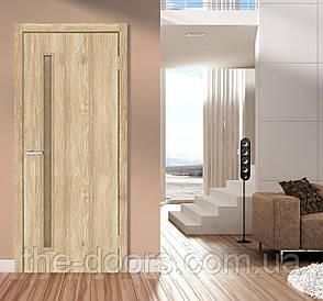 Двери межкомнатные ОМиС Техно T 01 ПО кора бронза