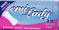 Прокладки гигиенические Emi Lady Ultra Mini (28шт/уп)
