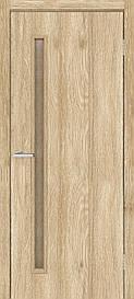 Двері міжкімнатні Оміс Техно T 01 ПО кора бронза 900