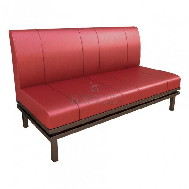 Офісний диван NORMAN на металлокаркасе. М'які меблі для офісу