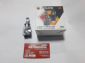 Лампа LED Type33 радиатор H3 12-24V 5000K к-т Cyclone