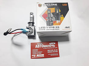 Лампа LED Type33 радиатор H1 12-24V 5000K к-т Cyclone