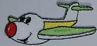 Аппликация для детской одежды. Самолет