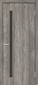Двері міжкімнатні Оміс Техно T 01 НС чорне