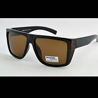 Солнцезащитные очки Matrix MT8581 Polarized, мужские ,коричневые
