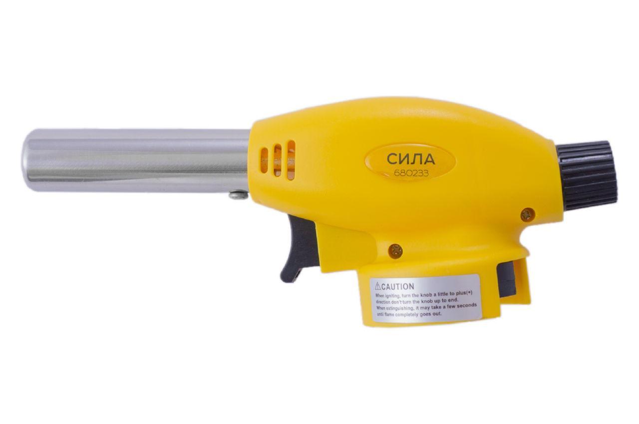 Пальник газовий c п'єзопідпалом Сила - 166 мм