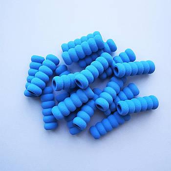 Foam rings / Фоам кольца -  голубые  ( 3 шт.)