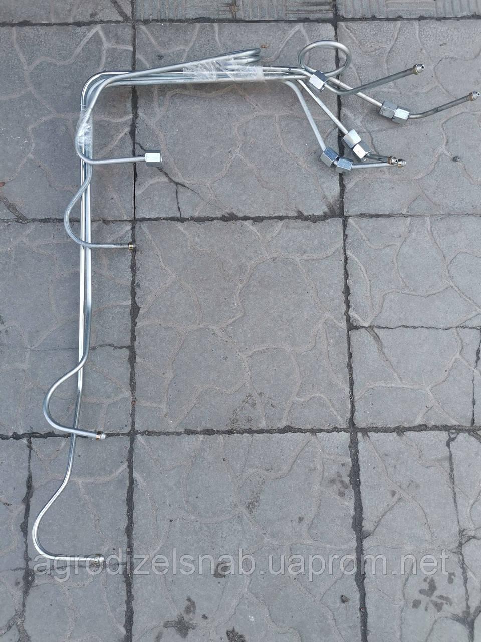 Комплект трубок ТНВД Т-40 (гнутых 4шт.)