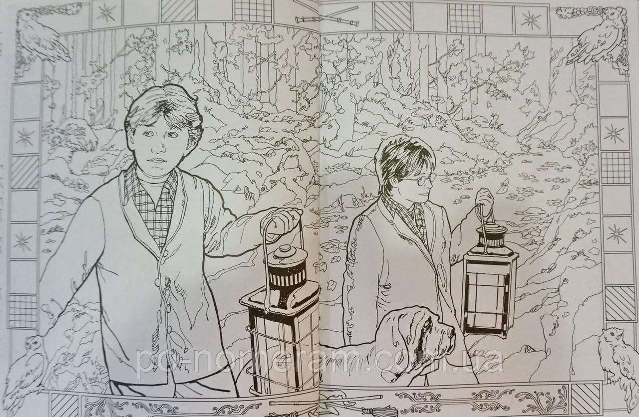 Гаррі Поттер — розмальовка українською мовою. Купити в ...