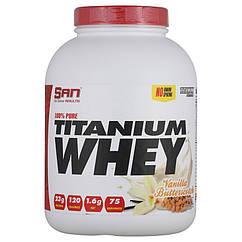 SAN 100% Pure Titanium Whey, Сироватковий протеїн (2270 гр.)