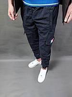 Мужские спортивные штаны tommy hilfiger камуфляж синие