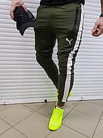 Мужские спортивные штаны Puma хаки