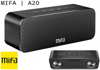 Мощная 30W Колонка Mifa A20 Black портативный динамик 30 Вт + AUX / MicroSD / TWS / Bluetooth / Super Bass