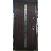 Двери входные Браун-Гласс (серия «Коттедж»)с двухкамерным стеклопакетов.