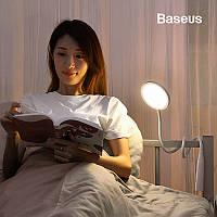 Портативная лампа для чтения Baseus с аккумулятором Comfort Reading Charging Uniform Light Hose (белая)