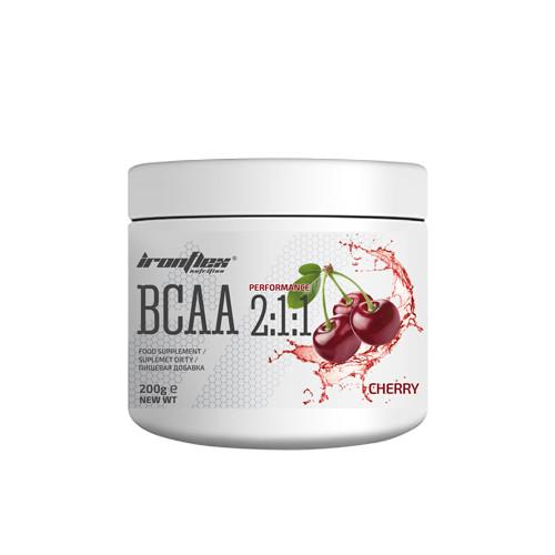 Аминокислоты IronFlex BCAA Performance 2-1-1 200 г Вишня Cherry