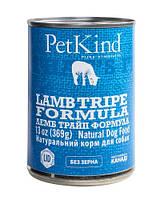 Натуральный влажный корм для собак с новозеландским ягненком, мясом канадской индейки и овечьим рубцом PetKind