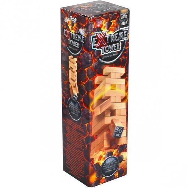 KMXTW-01-01 Розвиваюча настільна гра Джанга EXTREME TOWER рос тм Danko Toys