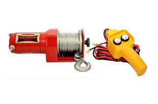 ✅Лебедка электрическая DRAGON WINCH DWM 2500 HD 12V и 1,13 т. электролебедка автомобильная 12 вольт