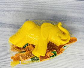 Набір для пасочок піску (тигр+мамонт+динозавр) В сітці 36568 Полісся Білорусь