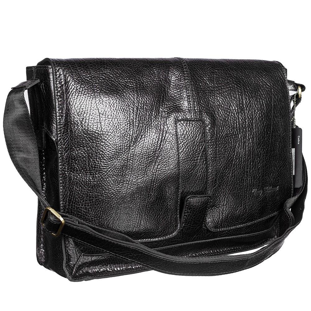 Большая кожаная сумка через плечо Tony Bellucci