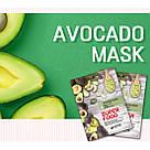 Тканевая маска с экстрактом авокадо Eyenlip Super Food Avocado Mask, фото 2