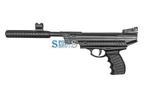 Пневматичний пістолет Hatsan Mod 25 + кулі і пулеуловітель з мішенями