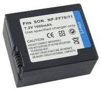АККУМУЛЯТОРSONY NP-FF70/71 7.2V 1600mAh Li-Ion