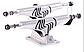 Подвески для скейта SILVER M-CLS HOLLOW RAW 8.0, фото 4