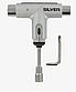 Універсальний ключ SILVER TOOL METALLIC SILVER, фото 2