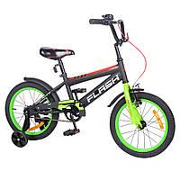 Детский велосипед 16 дюймов от 5 лет