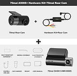 Відеореєстратор Xiaomi 70mai A500S Dash Cam Pro Plus GPS ADAS з камерою заднього виду і кабелем KIT, фото 6
