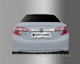 Хром накладка над номером Toyota Camry V50 2011-2014 (Американка) Autoclover C761