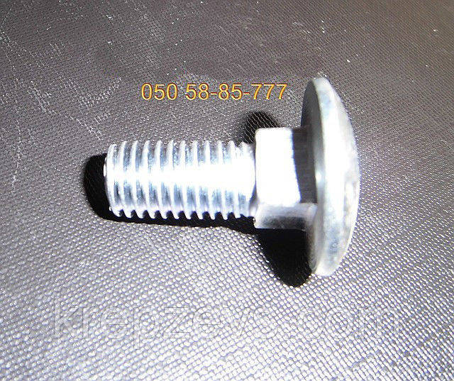 Болт М12 мебельный, ГОСТ 7802-81, DIN 603 | Фотографии принадлежат предприятию ЗЕВС®